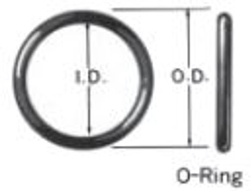 22020-239 O-Ring 3.88 OD, 3.62 ID Buna