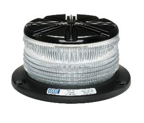 LED Beacon Pulse 8 Clear Amber ECCO 7460CA