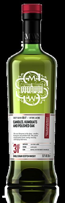 Candles, kumquats and polished oak