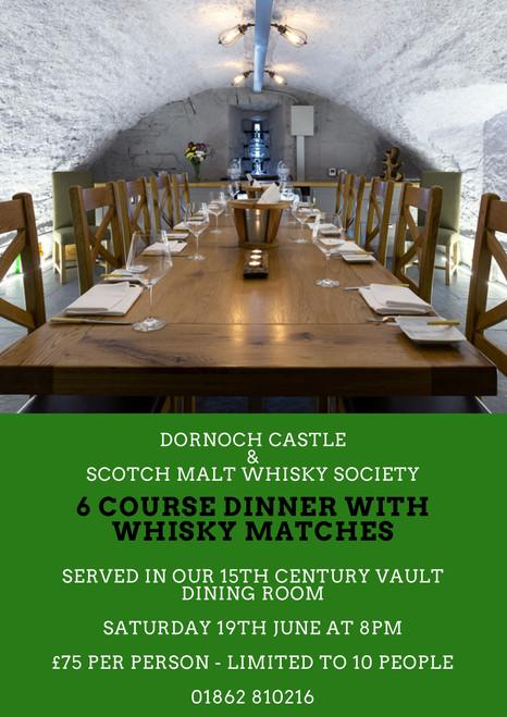 Dornoch Castle Tasting