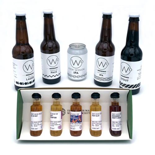 Virtual Tasting Pack October with 5 Wasted Degree Beers Selection