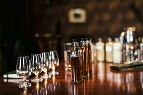 Aberdeen whisky tasting With Steven McConnachie - Nov