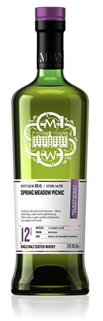 Spring meadow picnic