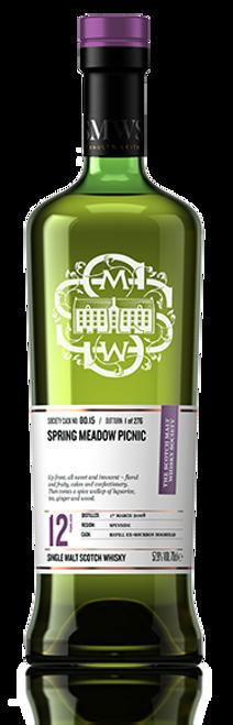 Spring meadow picnic