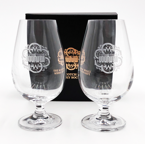 Pair of Society Whisky Glasses