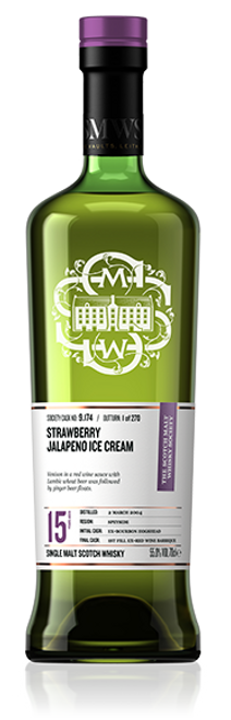 Strawberry jalapeno ice cream
