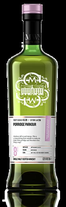 Porridge parkour
