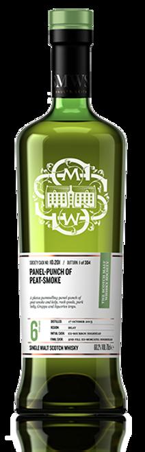 Panel-punch of peat-smoke