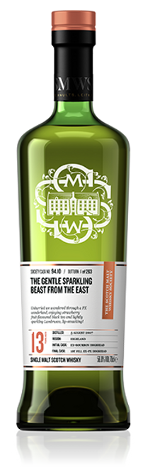The gentle sparkling beast from the east - Exclusive to Packages