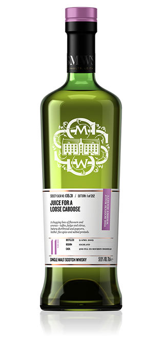 Juice for a loose caboose - Exclusive to April Packages