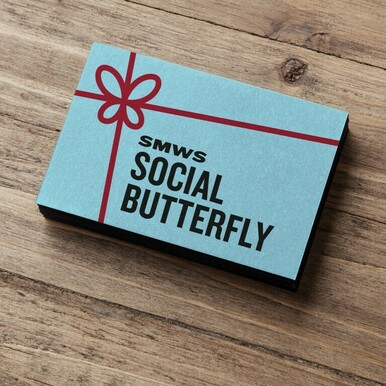 Perfect for the social butterfly