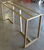 Tribeca Slant Console Table Base