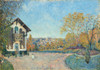 Art Prints of View of Marly-le-Roi from Coeur Volant by Alfred Sisley