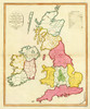 Art Prints of British Islands, 1797 (0294001) by Aloisius Gaultier and J.M. Wauthier