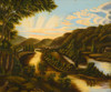 Art Prints of A View of Blennerhasset Island, West Virginia, American School