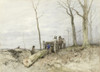 The Mallejan by Anton Mauve | Fine Art Print