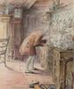 Art Prints of The Tailor Hears Noises by Beatrix Potter