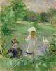 Art Prints of Beside the Lake by Berthe Morisot