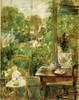 Art Prints of Doll on the Veranda by Berthe Morisot