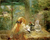 Art Prints of On the Veranda by Berthe Morisot