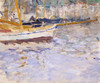 Art Prints of The Port of Nice by Berthe Morisot
