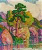 Art Prints of Pine and Aspen by Birger Sandzen