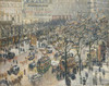 Art Prints of Boulevard des Italiens, Morning Sunlight by Camille Pissarro