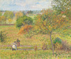 Art Prints of Fall, Eragny by Camille Pissarro