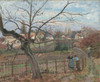 Art Prints of The Fence by Camille Pissarro