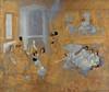 Art Prints of Untitled Oriental Interior by Carl Frederik Hill