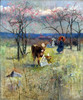 Art Prints of An Early Taste for Literature by Charles Conder