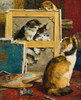 Art Prints of The Torn Canvas by Charles Van den Eycken