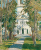 Art Prints of The Church at Gloucester by Childe Hassam