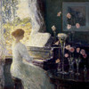 Art Prints of The Sonata by Childe Hassam