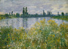 Art Prints of Banks of the Seine, Vetheuil by Claude Monet