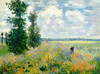 Art Prints of Poppy Field Argenteuil by Claude Monet