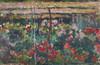 Art Prints of Peony Garden by Claude Monet