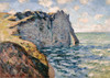 Art Prints of The Cliff of Aval, Etretat by Claude Monet