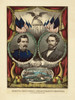 Art Prints of US Democratic Presidential Ticket, Mcclellan and Pendleton by Currier & Ives