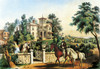 Art Prints of American Country Life, May Morning by Currier & Ives