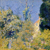Art Prints of Garden and Cottage by Daniel Garber