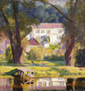 Art Prints of Landing at Bloomsbury by Daniel Garber
