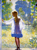 Art Prints of Tanis, the Artist's Daughter