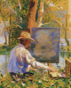Art Prints of The Artist Painting a Landscape by Daniel Garber