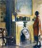 Art Prints of The Mantel by Daniel Garber