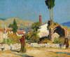 Art Prints of The Road to Settignano by Daniel Garber