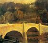 Art Prints of Tohicken Bridge by Daniel Garber