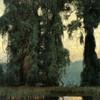 Art Prints of Towering Trees, September by Daniel Garber