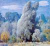 Art Prints of Windblown Willows by Daniel Garber