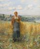 Art Prints of Jeannie Gleaning by Daniel Ridgway Knight